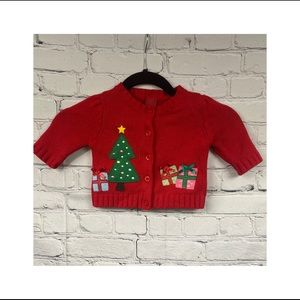 Christmas knitted cardigan 3M